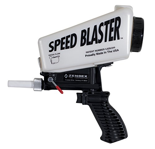 Speed Blaster Gravity Feed Media Blaster, White