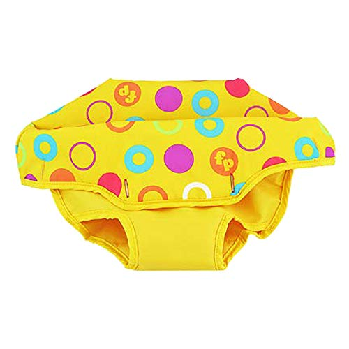 Replacement Part for Fisher-Price Jumperoo - Fisher-Price First Steps Jumperoo Baby Bouncing Seat BFB21 ~ Seat Pad ~ Yellow with Colorful Polka Dots