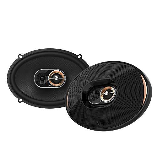 """Infinity Kappa 93IX- 6"""" x 9"""" three-way car audio multielement speaker"""