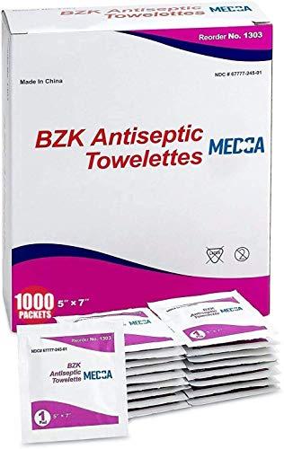 bzk Wipes Pack of 1000…