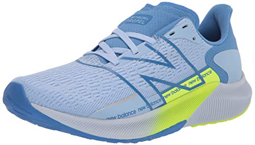 New Balance Women's FuelCell Propel V2 Running Shoe, Blue/Green, 9.5 M US