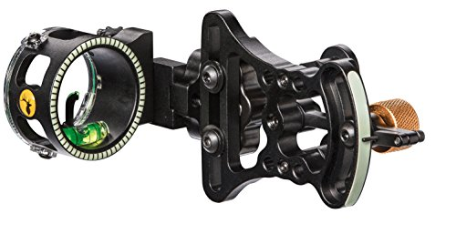Trophy Ridge Pursuit Vertical Pin Bow Sight (Right Hand) , Black