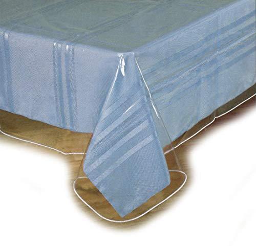 Clear Plastic Tablecloth Protector, Table Cloth Vinyl (54' x 72')