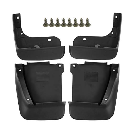 A-Premium Mud Flaps Splash Guards Replacement for Honda Accord 2003-2007 Front and Rear 4-PC Set