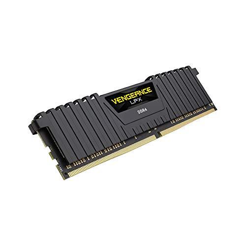 Corsair Vengeance LPX 8GB (1x8GB) DDR4 3600 (PC4-28800) C18 Optimized for AMD Ryzen - Black