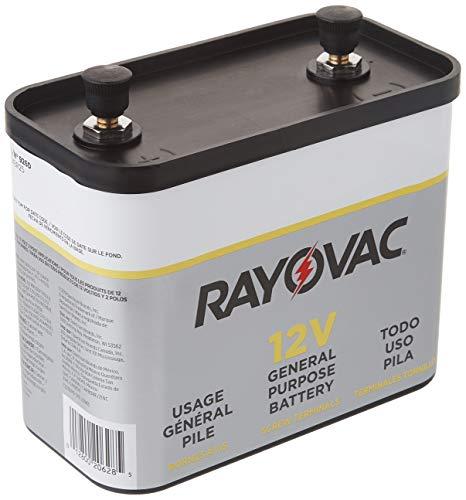 RAYOVAC General Purpose Lantern Battery, 12 Volt, Screw Terminals, 926C