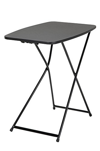 """CoscoProducts COSCO 18"""" x 26"""" Adjustable Height Activity Table, Black, 1-Pack"""