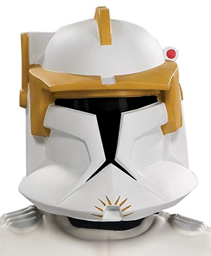 Rubies Star Wars Clone Wars Child's Clone Trooper Commander Cody Costume and Mask, Large