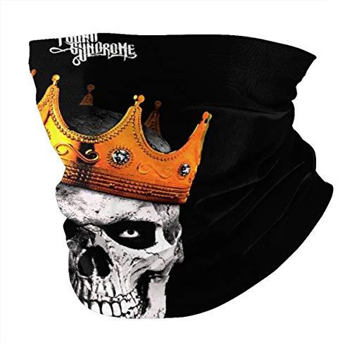 Hopsin Crown Me Bandanas Headwear Seamless Neck Gaiter Scarf For Dust Headwrap, Balaclava Cool Lightweight Multi-Functional Fashionable Helmet Liner Cycling