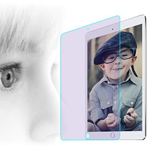 PERFECTSIGHT Anti Glare Blue Light Screen Protector compatible with iPad 9.7 (2018/2017,6th/5th Gen)/ iPad Pro 9.7'/ iPad Air/Air 2/ [Anti Eye Strain] Anti Reflective Matte Tempered Glass