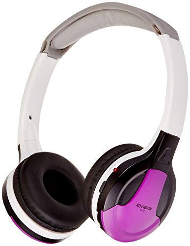 XO Vision Universal IR Headphones - In-Car Wireless Foldable Headphones, DVD Player, In-Car System, Custom Fit, Wireless Entertainment