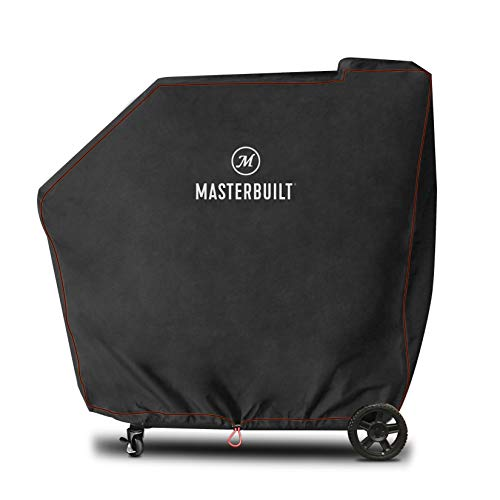 Masterbuilt MB20080220 Gravity Series 560 Digital Charcoal Grill + Smoker Cover, Black