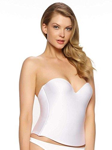 Felina Essentials Seamless Hidden Wire Bra Style 7643, White, 40B