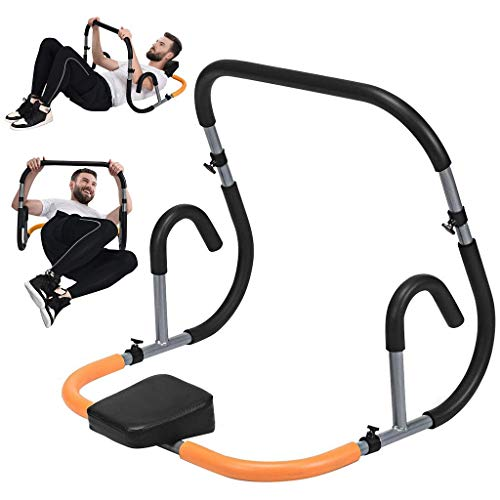 Fitness Crunch Ab Trainer, Abdominal Machine, Workout Exerciser, Portable Crunch Trainer for Core, Exercise Ab Machine, Workout Abdominal training Sit Up Ab Roller Equipment for Home Gym Women Men