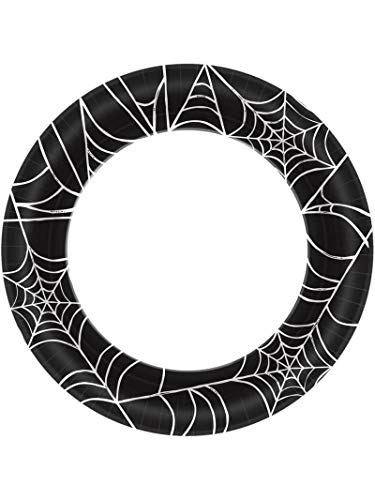 Halloween~Spider Web Paper Plate~40 Count~10'