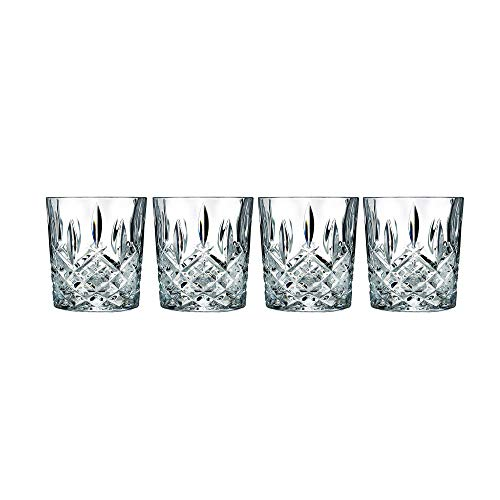 Marquis by Waterford Markham by Marquis Double Old Fashion Set of 4, 11 oz, Clear