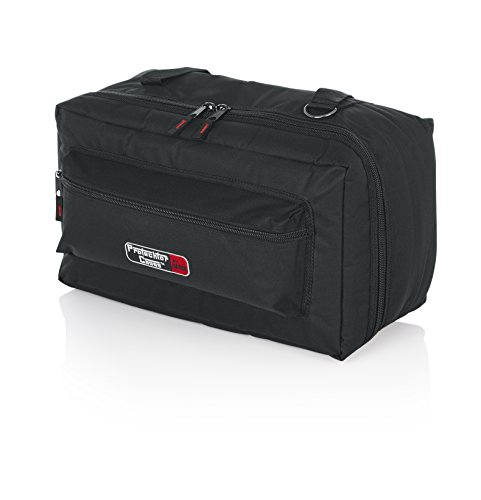 Gator Cases Protechor Series Padded Carry Bag for Bongos or Double Bass Drum Pedals with Removable Shoulder Strap; 18' x 10' x 7' ( GP-66 )