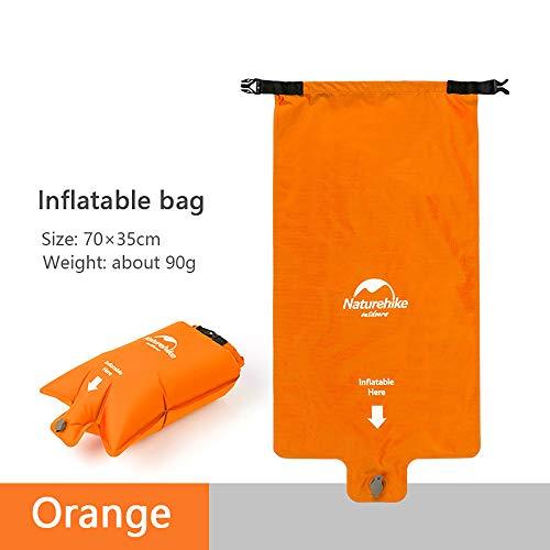 usharedo Sleeping Mat Camping Mattress Inflatable Sleeping Pad Ultralight Outdoor Foldable Backpack Sleeping Bag Pad for Hiking Travelling Camping NH19Q033-D