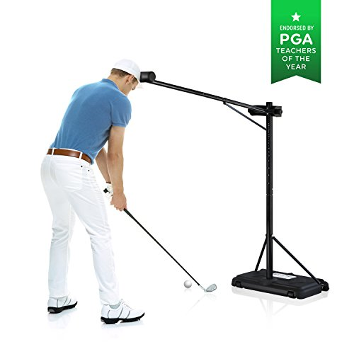 PRO-HEAD Golf Swing Trainer Golf Training Aid for All Golfers - Posture Correcting Tool (Portable)