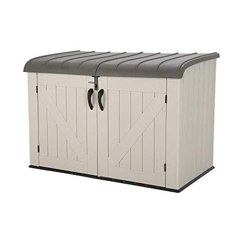 Lifetime Products 60170 Horizontal Storage Box, Tan
