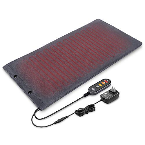 Heating Pad for Back Pain Relief,12V Heating Pads for Cramps,3 Heat Levels with Auto Shut Off,Heating Pad for Neck and Shoulder,Washable Soft Plush Cover Heated Pad for Feet Warmer