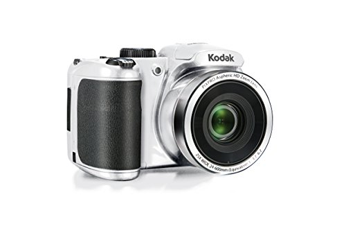 Kodak PIXPRO Astro Zoom AZ252-WH 16MP Digital Camera with 25X Optical Zoom and 3' LCD (White)