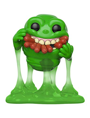 Funko Pop! Movies: Ghostbusters - Slimer with Hot Dogs, Multicolor, Standard