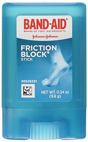 Band-Aid Friction Blister Block Stick, Pack of 1 (Packaging May Vary)