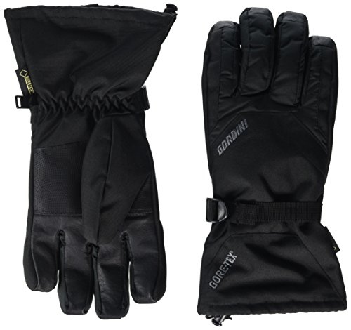 Gordini Men's Standard Gore Gauntlet Glove, Black, Medium