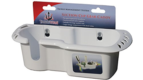 TH Marine Large Boat Gear Caddy w/Suction Cups, White (TT-52070-DP)