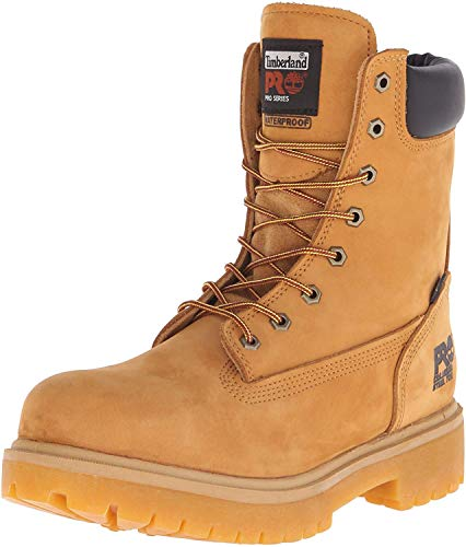 Timberland PRO Men's Direct Attach 8' Steel Toe Boot,Wheat,8.5 M