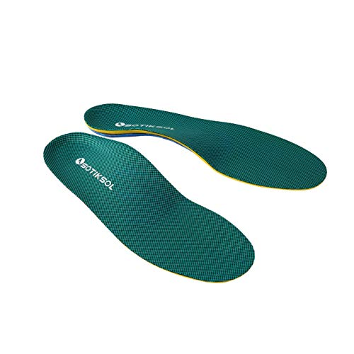 OSOTIKSOL Plantar Fasciitis Feet Insoles & Arch Support Shoe Insert Insoles Orthotic Inserts for Men & Women Relieve Flat Feet, High Arch, Foot Pain