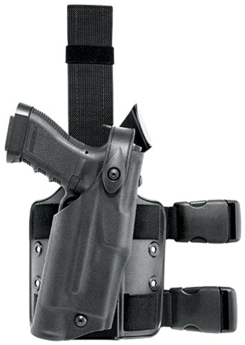 Safariland 6304 ALS Tactical Leg Holster, Black, Right Hand, Glock 17/22 with ITI M3
