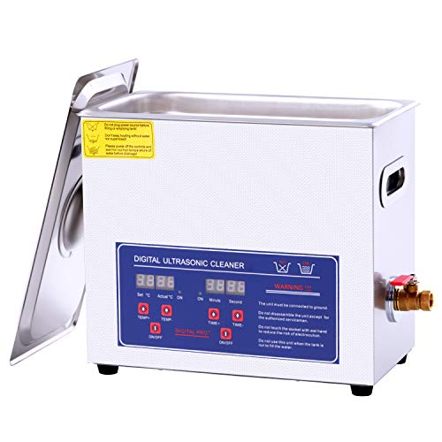 6.5L Ultrasonic Cleaner ,Carburetor ultrasonic Cleaner Digital Timer Heater Commerical Ultrasonic Parts Cleaner…