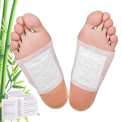 Premium Foot Pads: Rapid Pain Relief & Foot Health, Fresh Scent, Foot Care, Sleeping & Anti-Stress Relief, No Stress Package New Formula (10)