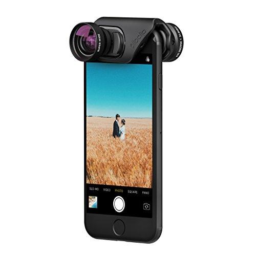 olloclip - CORE Lens Set for iPhone 8/8 Plus & iPhone 7/7 Plus - FISHEYE, Super-Wide and Macro 15x Premium Glass Lenses