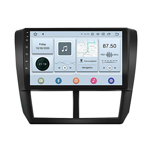 LEXXSON Android 10.1 Car Stereo, Touch Screen Head Unit Bluetooth USB Player for 2008-2012 Subaru Forester / 2008-2011 Subaru Impreza / 2008-2014 Subaru Impreza WRX/Subaru Impreza WRX STI 2008-2014