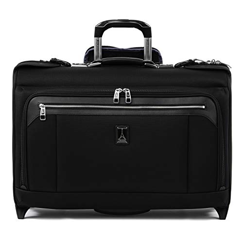 Travelpro Platinum Elite-Carry-On Rolling Garment Bag, Shadow Black, 22-Inch