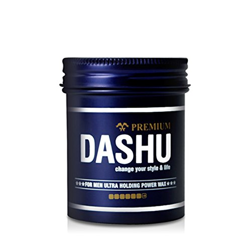 Dashu Premium Ultra Holding Power Wax for Men 3.5oz – Extra Strong Hold Without Shine, Easy to Wash, Styling Wax