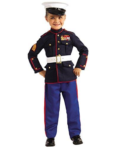 Marine Dress Blues Child Costume - Medium