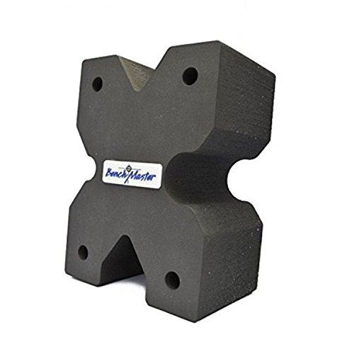 BenchMaster Weapon Rack XBlock BMWRXBLK Rest Gun Bench Shooting, Grey, 7.8
