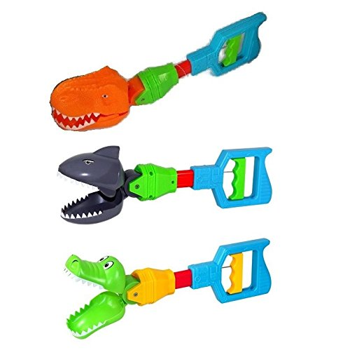 (1) VEBE Kids Grabber Fine Motor Hand Eye Coordination Skills Toy Shark Alligator Claw or Dinosaur