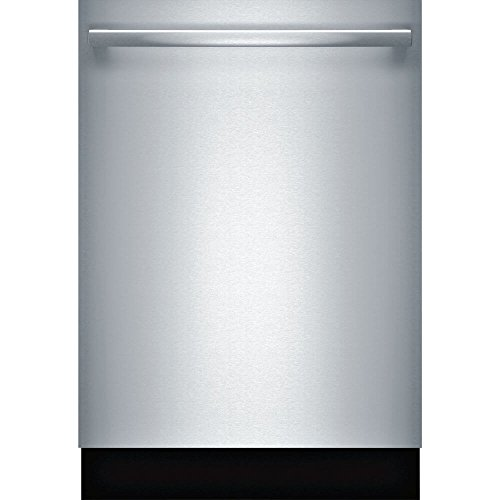 Bosch SHXM63WS5N 24' 300 Series Built In Fully Integrated Dishwasher with 5 Wash Cycles, in Stainless Steel