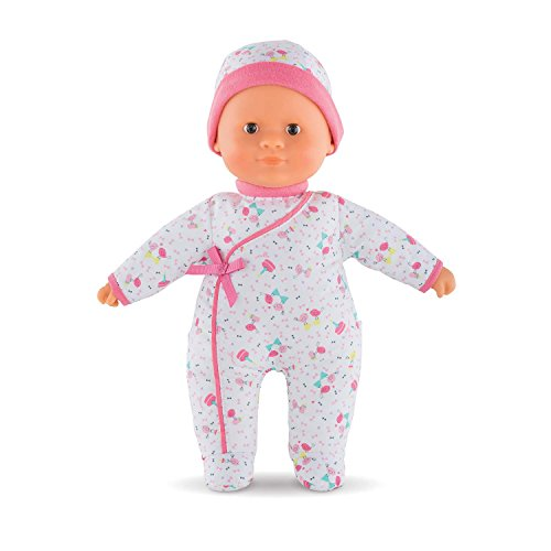 Corolle Mon Premier Poupon Sweet Heart Birthday Toy Baby Doll, Pink, 12 inch
