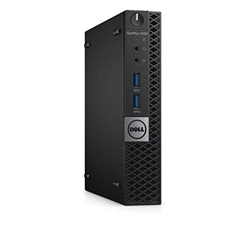 Dell OptiPlex 5050 Micro Form Factor (Intel Core i5-7600T, 12 GB DDR4, 1TB SSD) Windows 10 Pro (Renewed)