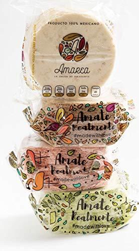 Obleas de amaranto / amaranth flour wafers (8 packs) (natural flavor with cinnamon)