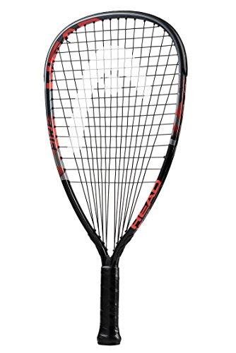 HEAD MX Fire 190 Beginners Racquetball Racket - Pre-Strung Light Balance Racquet