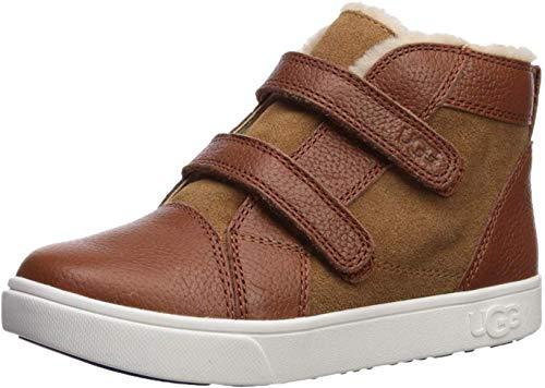 UGG Kids' Rennon II Sneaker, Chestnut, 7