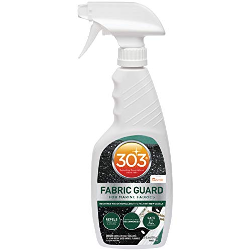 303 Marine Fabric Guard - For Marine Fabrics - Restores Lost Water Repellency To Factory New Levels - Repels Moisture And Stains, 16 fl. oz. (30616CSR)
