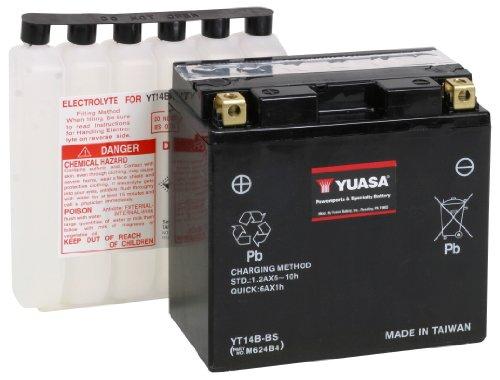 Yuasa YUAM624B4 YT14B-BS Battery